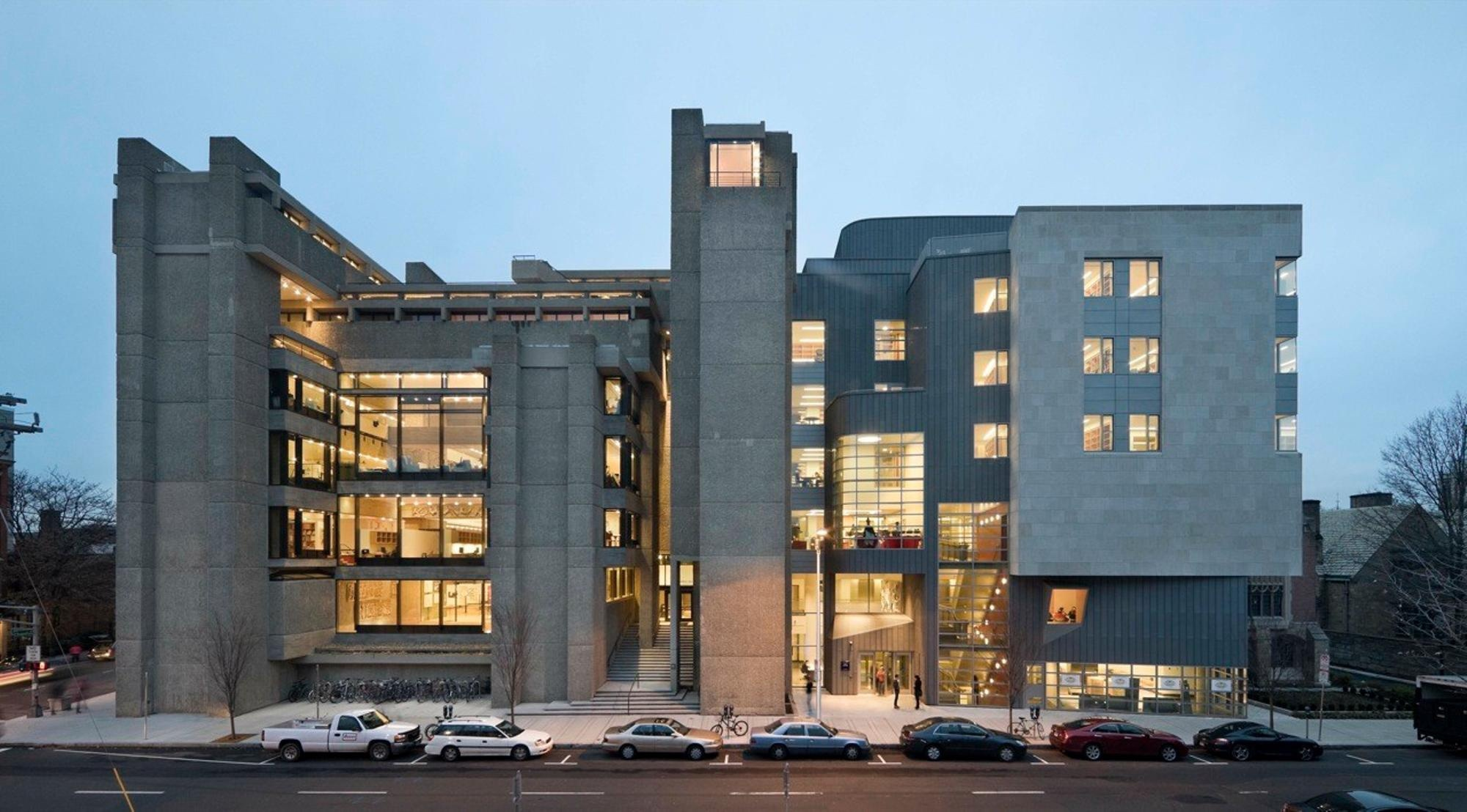 Paul Rudolph Hall and Loria at Yale