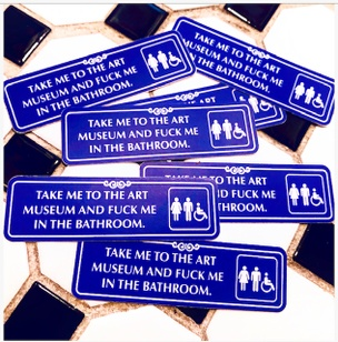 Take Me To The Art Museum... Sticker