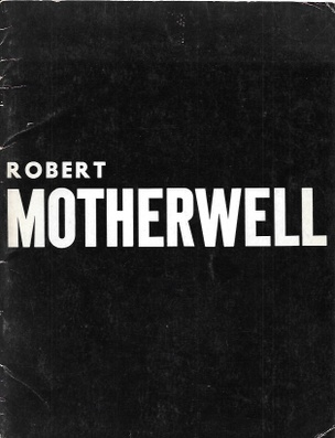 Robert Motherwell Exhibition Catalog