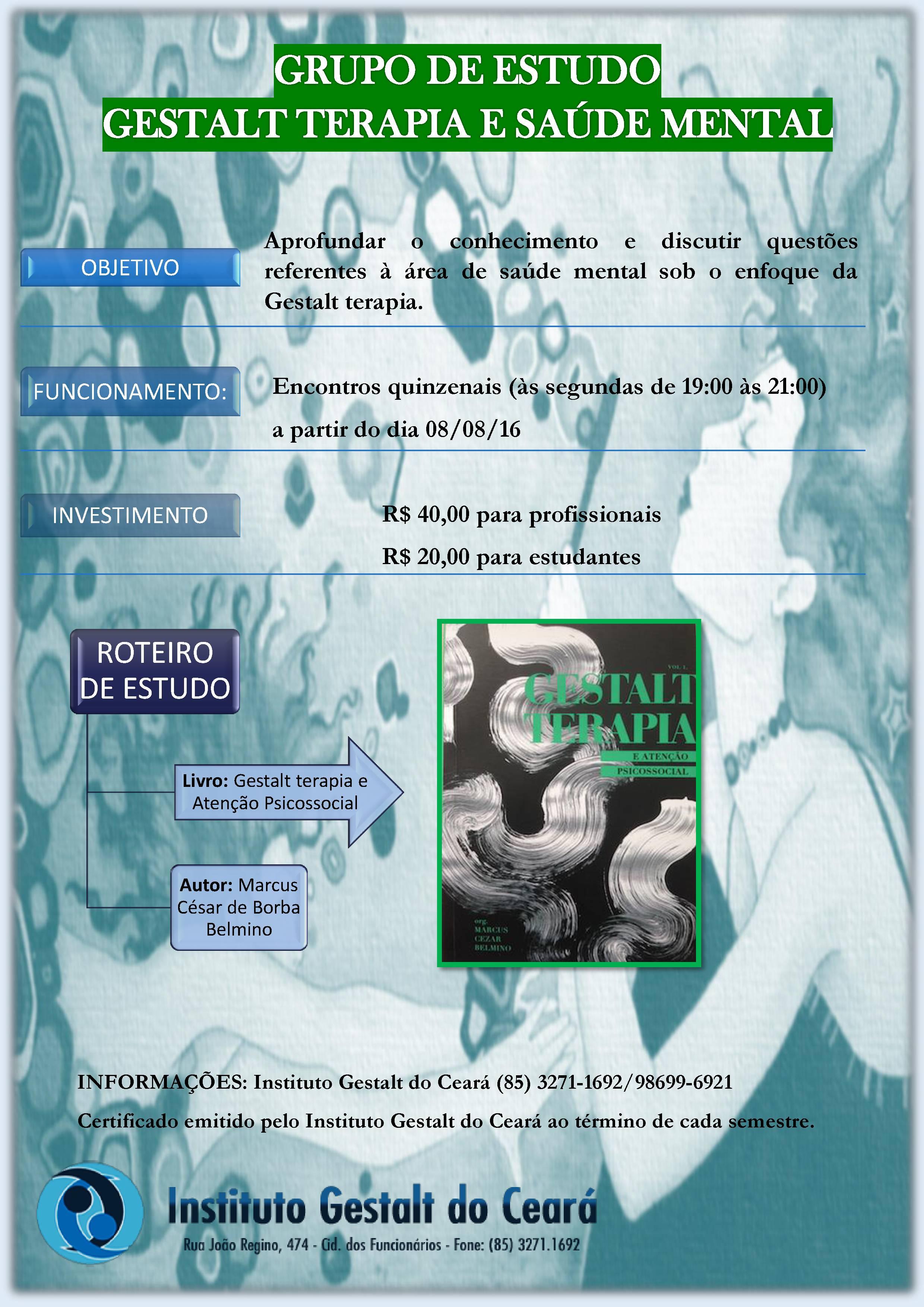 Grupo de Estudos Gestalt-terapia e Saúde Mental