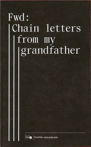 Fwd: Chain letters from my grandfather