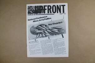 Upfront : A Political Art Documentation / Distribution