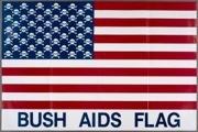 Bush AIDS Flag
