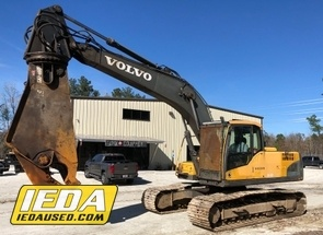 Used 2008 Volvo EC210CL w/ Shear For Sale