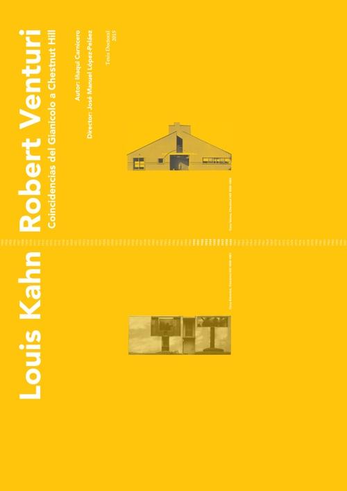 Ph.D. Louis Kahn y Robert Venturi Coincidencias