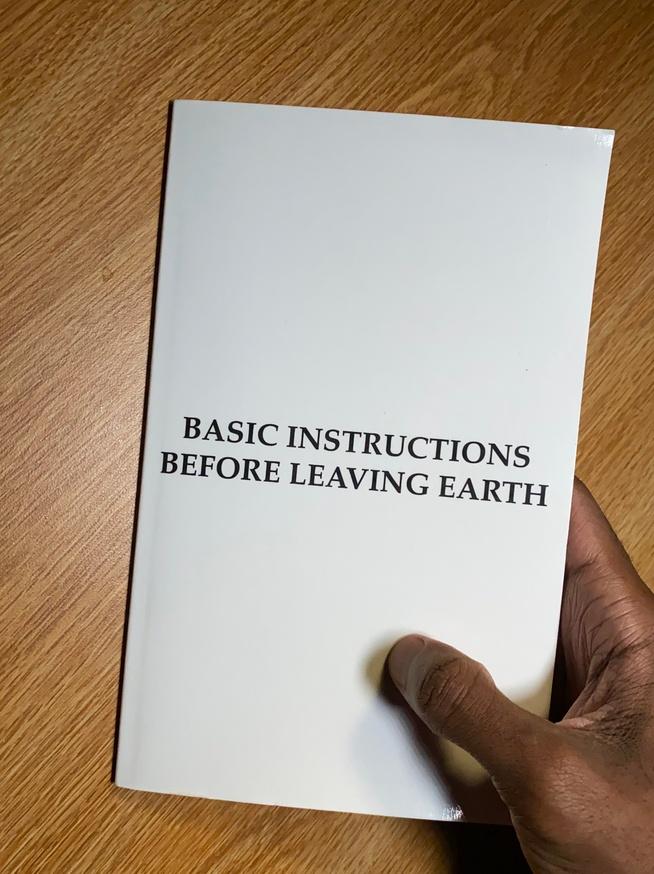 Basic Instructions Before Leaving Earth [B.I.B.L.E.]