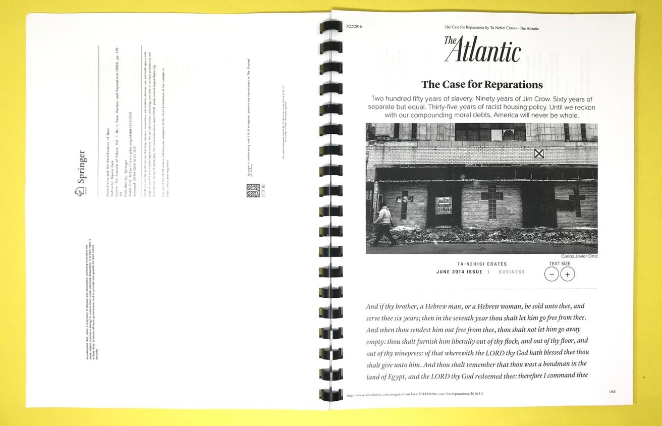 Reader on Reparations thumbnail 2
