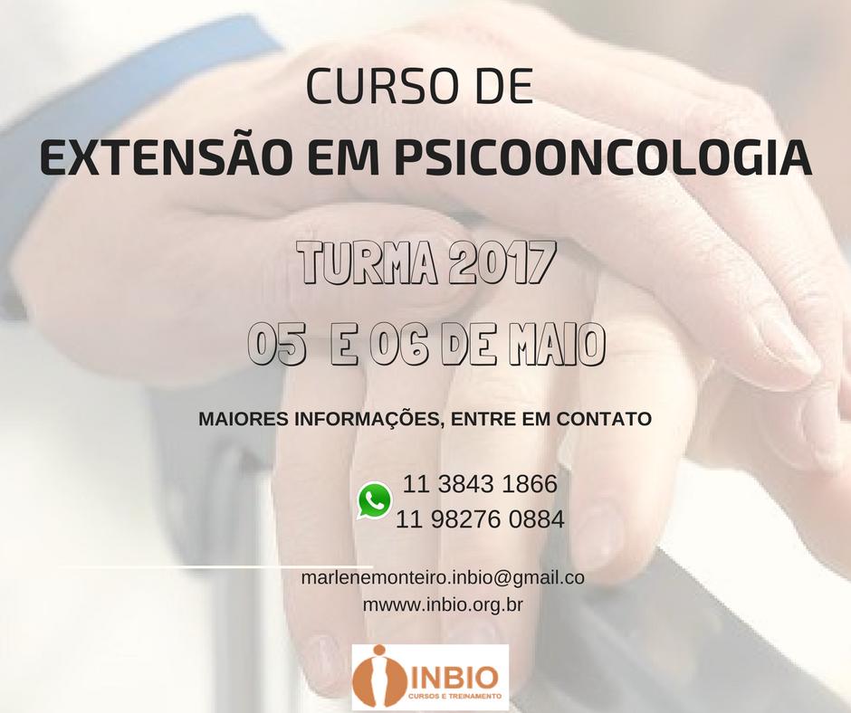 CURSO DE EXTENSÃO EM PSICO-ONCOLOGIA