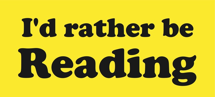 I'd rather be Reading [Yellow]