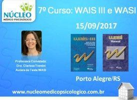 WAIS III e WASI - Escala Wechsler de Inteligência 15/09