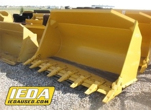 Used  Liebherr 3.1 CU YD GP BUCKET W/TEETH For Sale