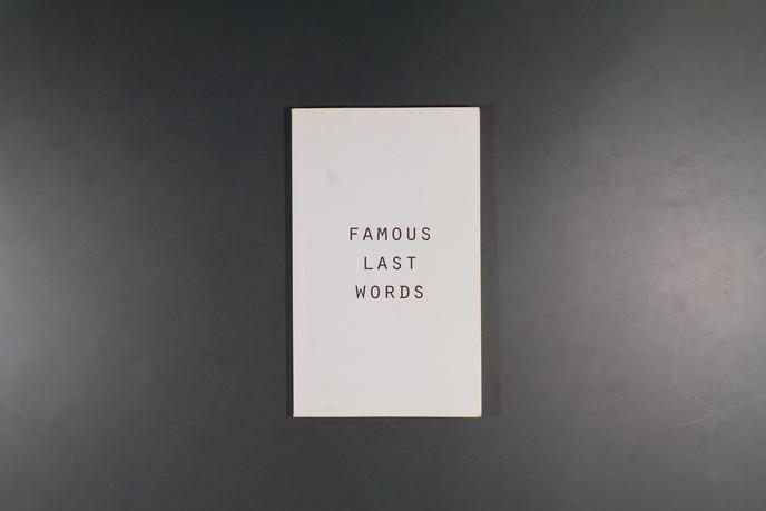 Famous Last Words thumbnail 4