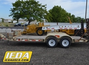 Used 2003 Trail King TK10U Utility Ramp Trailer For Sale