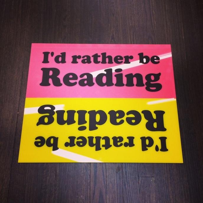 I'd rather be Reading [Yellow] thumbnail 2