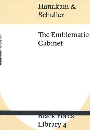 The Emblematic Cabinet: An improvisatory transcript