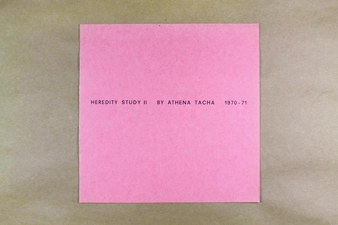 Heredity Study II 1970-71