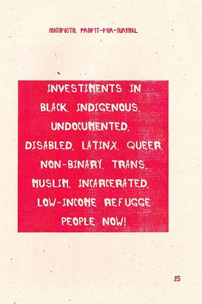 Manifesto, Profit-for-Survival thumbnail 2