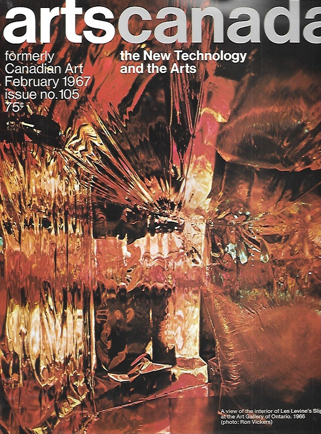 Artscanada: The New Technology and the Arts