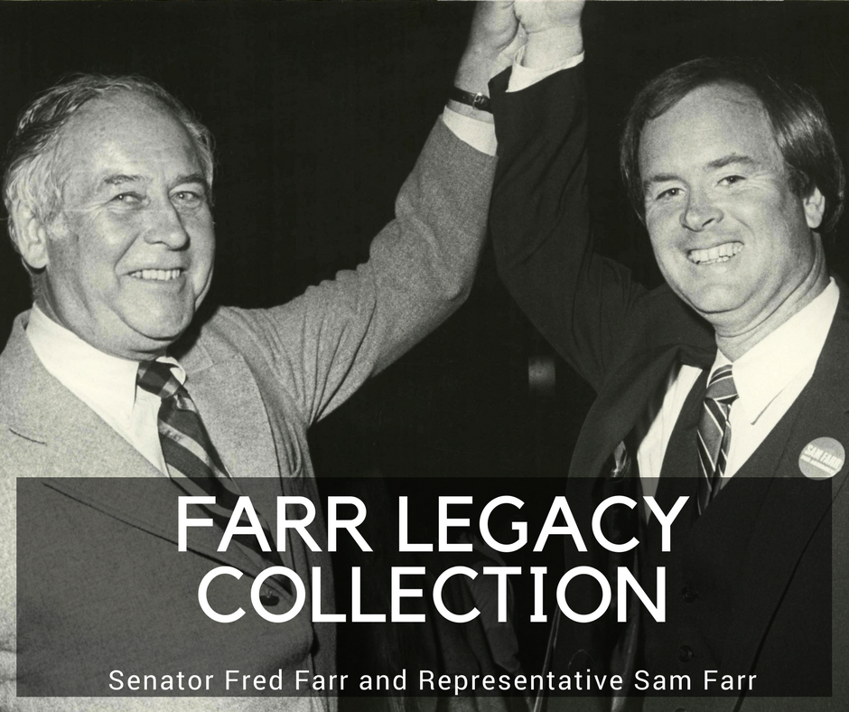 March 2018 Exhibit in the Archives: The Farr Legacy