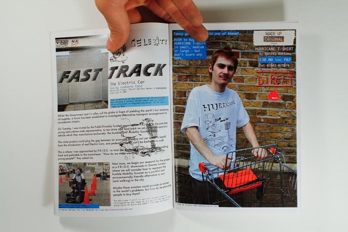 Daniel Battams Fan Club Magazine thumbnail 2