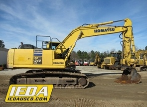 Used 2013 Komatsu PC210 LC-10 For Sale