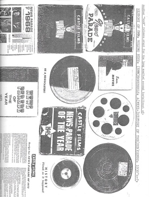 History of 8mm, Vol. 9 : Newsreels, a (Mini-)History of the (Sub)genre, 1930's - ?