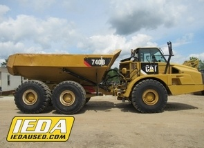 Used 2011 Caterpillar 740B For Sale