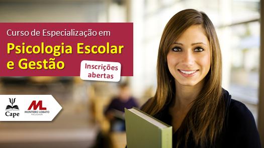 Especialização em Psicologia Escolar e Gestão