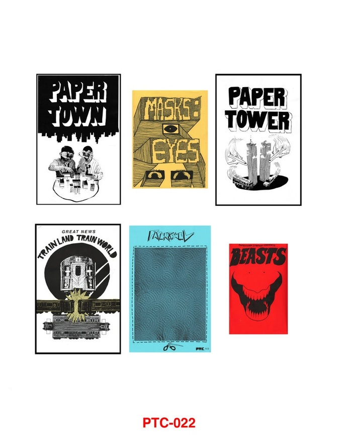 Papertown Complete Cut Outs Vol. 1: 2014-2016 thumbnail 2