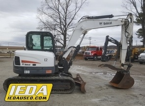 Used 2011 Bobcat E80 For Sale