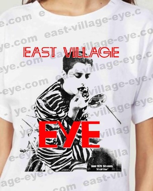 East Village Eye Lipstick T-shirt [Large]
