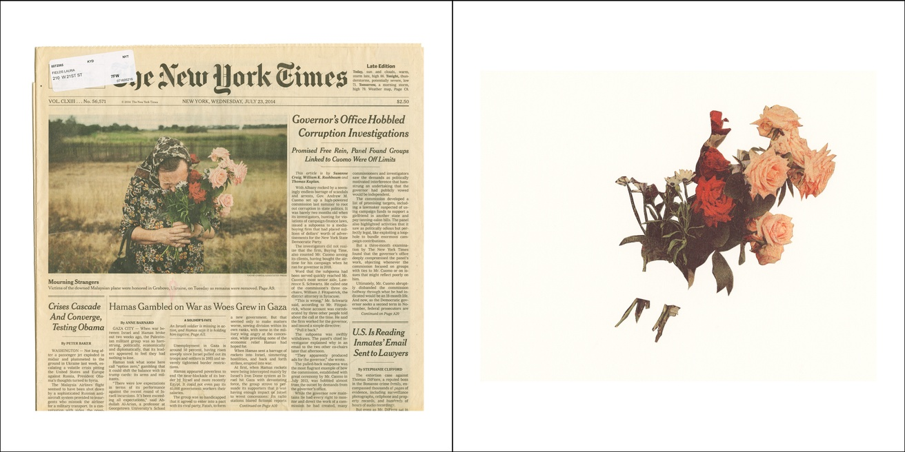 Front Pages with Pictures of Women and Flowers : The New York Times thumbnail 2