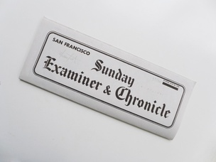Sunday Examiner Chronicle
