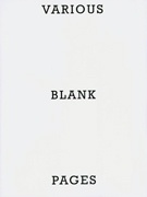 Various Blank Pages
