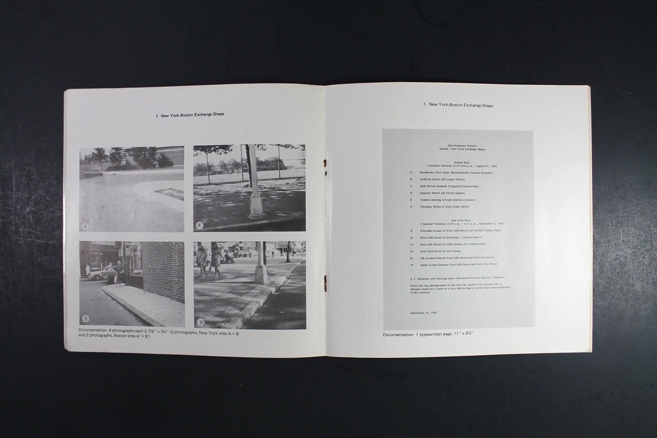 Douglas Huebler : November 1968 thumbnail 5