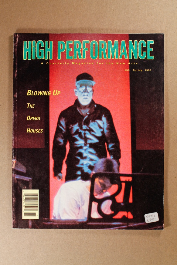 High Performance : A Quarterly Magazine for the New Arts thumbnail 3