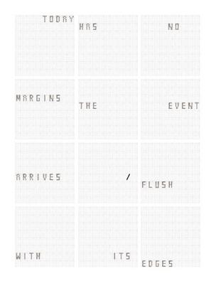 Today Is Today Is Today Is Today : Complete Set of 12 Prints, 2012