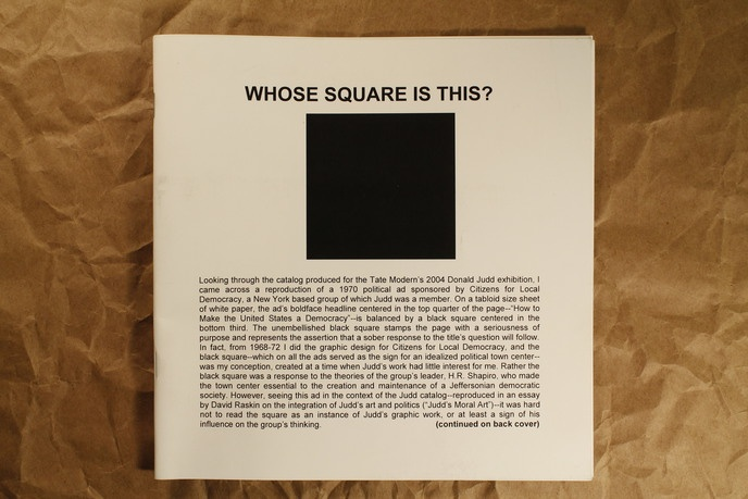 Whose Square Is This?