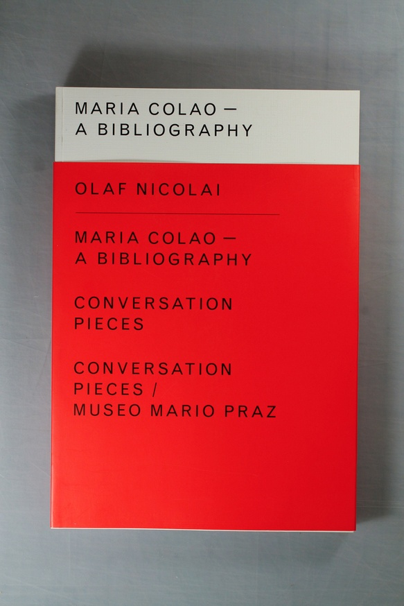Maria Colao : A Bibliography / Conversation Pieces / Conversation Pieces/Museo Mario Praz thumbnail 2