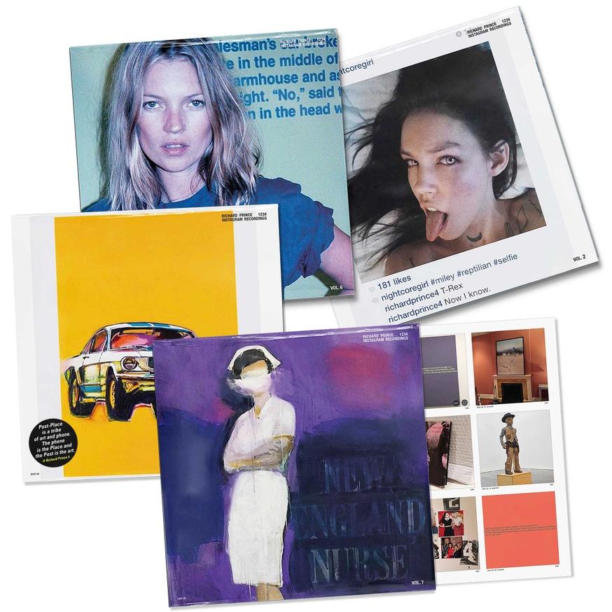 Richard Prince 1234: Instagram Recordings Complete Set, Vols. 1-12