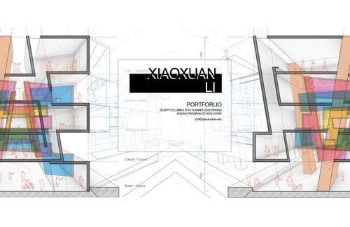 AAD LiXiaoxuan SP20 Portfolio.pdf_P1_cover.jpg