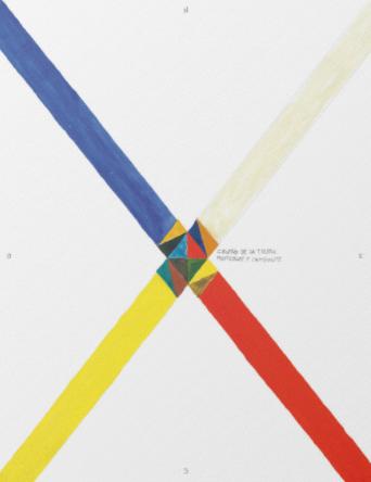 Centro de la tierra -- Multicolor y cambiante