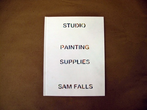Sam Falls, Rubbings and Polaroids