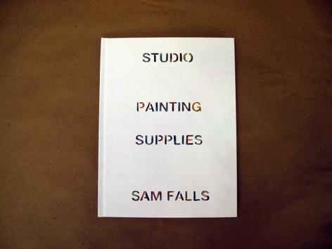Sam Falls, Rubbings and Polaroids
