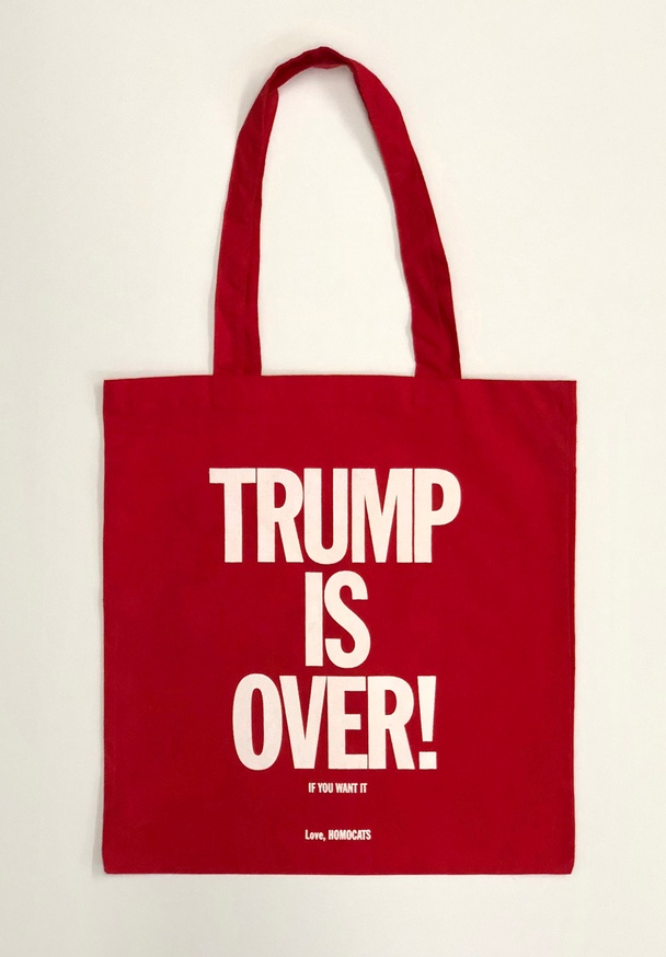 HOMOCATS: TRUMP IS OVER Tote [Red]