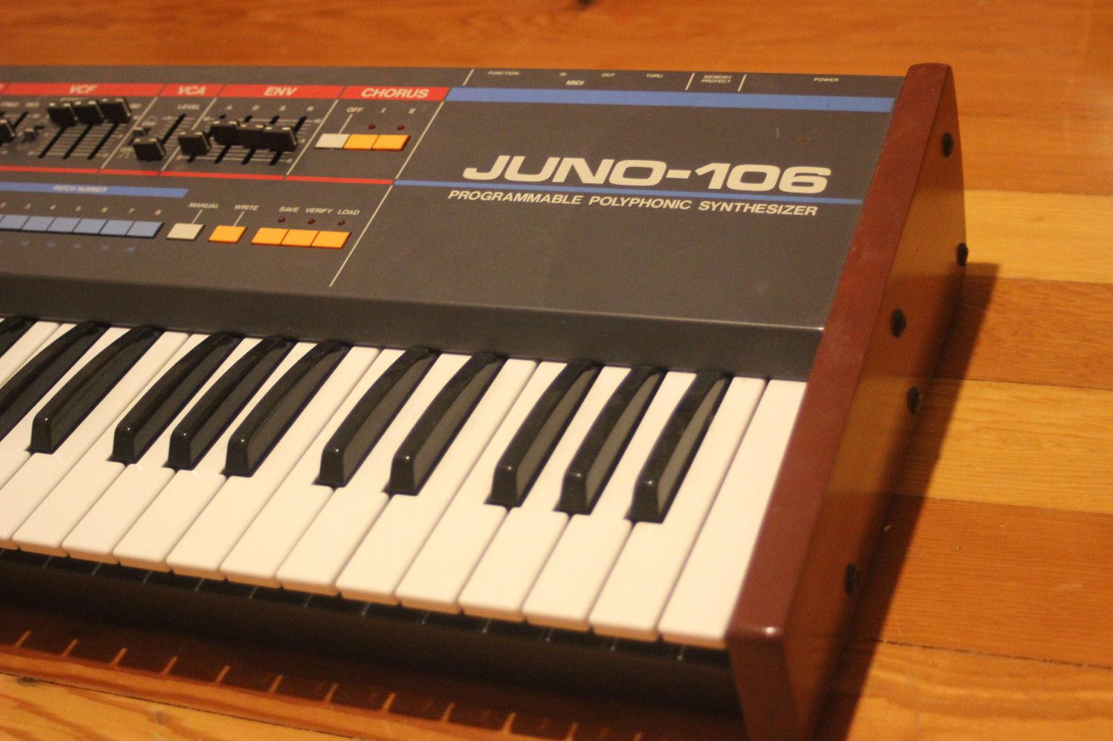 Juno 106 Restoration - SynthSpa - Allen Coppock (Vintage