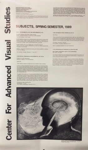 Center for Advanced Visual Studies : Subjects, Spring Semester, 1989