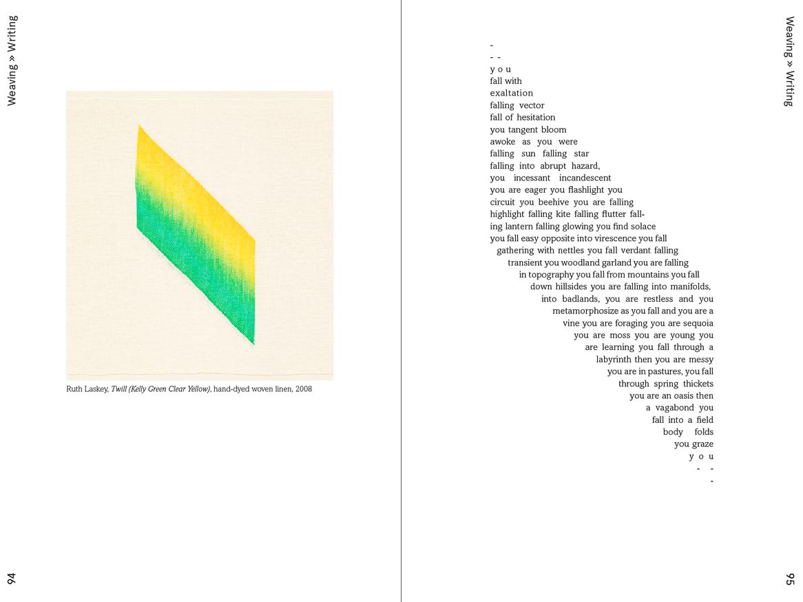 Weaving Language II: Language is Image, Paper, Code, & Cloth thumbnail 3