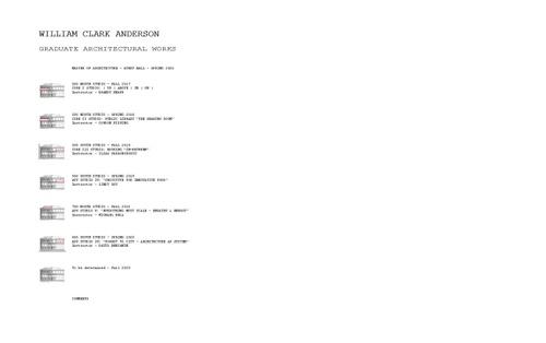 ARCH AndersonWilliam SP20 Portfolio.pdf_P1_cover.jpg