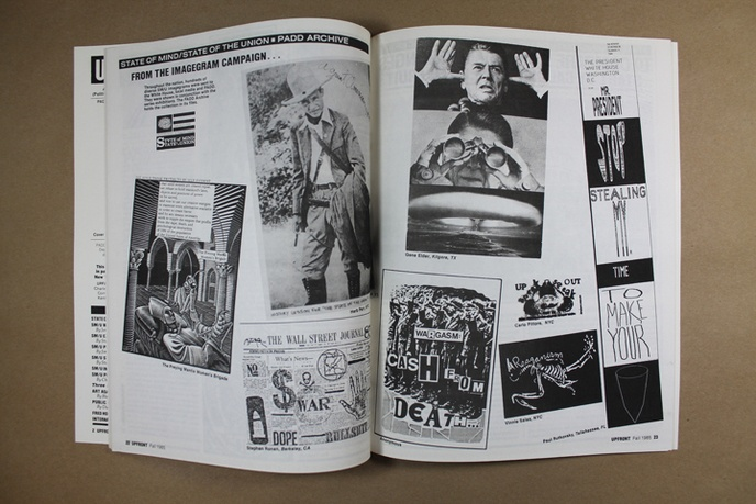 Upfront : A Publication of Political Art Documentation / Distribution thumbnail 4